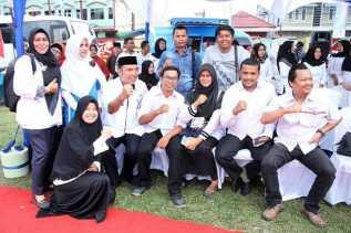 Wujudkan Keluarga Berkualitas Plt Wali Kota Resmikan Pencanangan Bhakti Sosial IBI KB Kes Pekanbaru