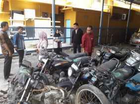 Lelang Ulang 15 Unit Sepeda Motor oleh BPKAD Mengacu Permendagri 2016