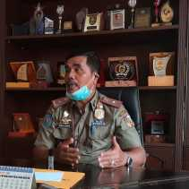 Satpol PP Pekanbaru Layangkan Surat Imbauan Terapkan Protokol Kesehatan