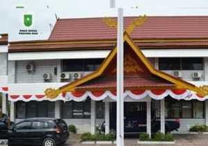 Aliran Listrik Kantor Dinsos Riau Diputus PLN