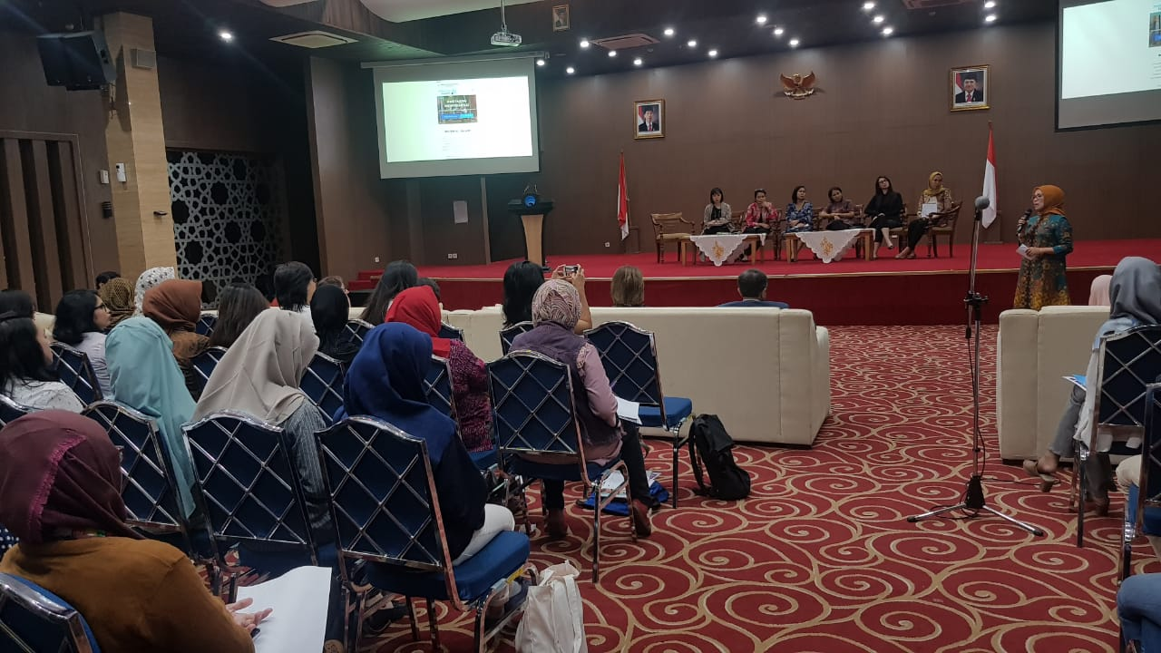 Sekretaris DLHK Hadiri Acara Girls in ICT Day Celebration 2019