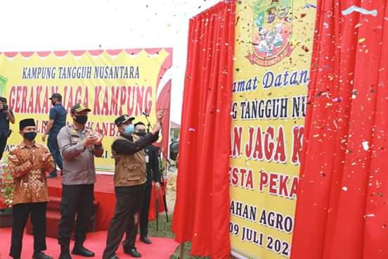Wujudkan Masyarakat Tangguh, Pemko Luncurkan Program Kampung Tangguh Nusantara, Linkarfakta.com