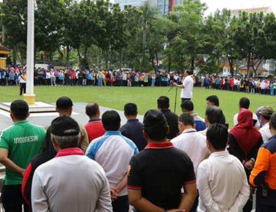 Apel Perdana 2020, Wali Kota Ajak ASN Tingkatkan Semangat Kerja Layani Masyarakat