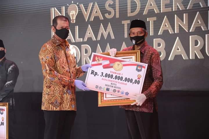 Wawako: Juara I Lomba Inovasi Daerah Kado Istimewa Masyarakat Pekanbaru