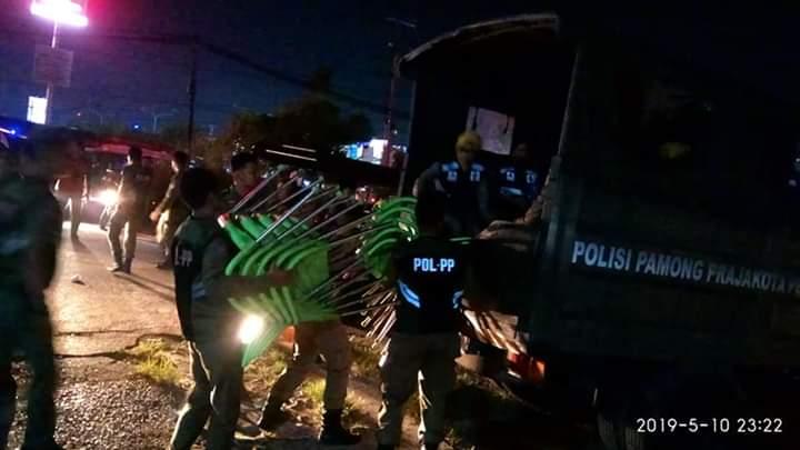 Langgar Jam Operasional, Warnet dan Tempat Hiburan di Razia, 4 Wanita dan 23 Pria Diamankan