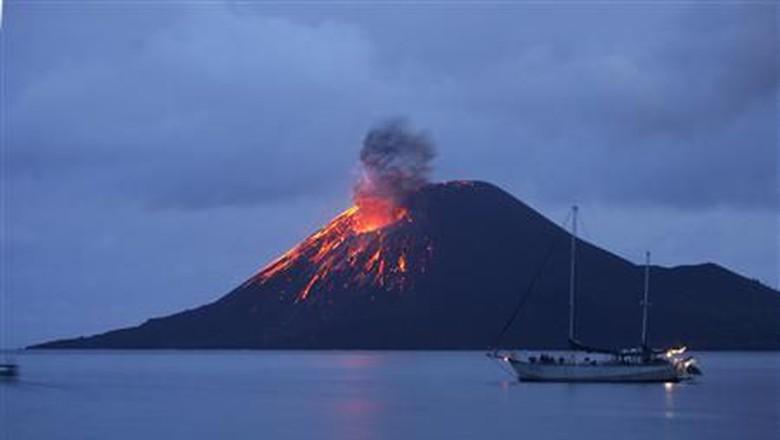 Tidak Tertutup Kemungkinan Anak Gunung Krakatau Kembali Longsor