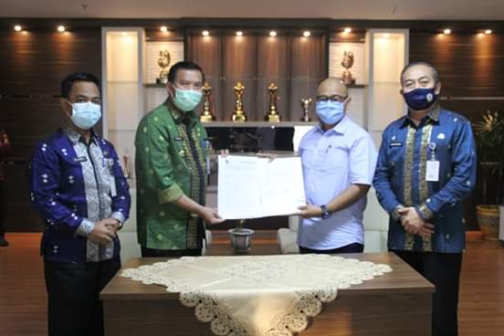 Pemko Pekanbaru dan PT SPP MoU Penyerahan Lahan KIT