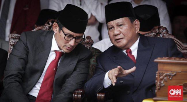 Prabowo Sapa Pendukungnya di Inggris Lewat FaceTime