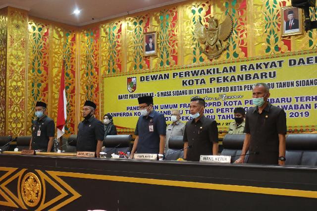 DPRD Gelar Rapat Paripurna Laporan Reses Anggota Dewan