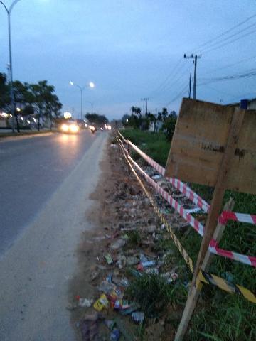 Liburan, jalanan Pekanbaru mulai lengang