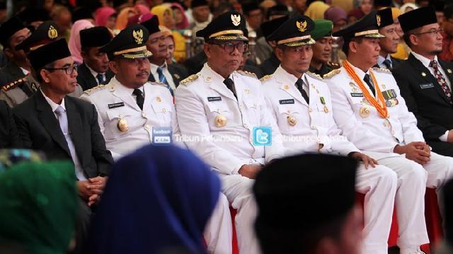 Pelantikan Walikota dan Wakil Walikota Pekanbaru Periode 2017-2022